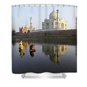 Timeless Taj Mahal Shower Curtain