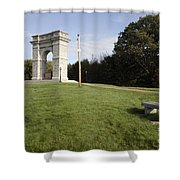 Titus Arch Replica - Northfield Nh Usa Shower Curtain