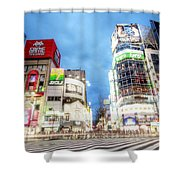 Tokyo Japan Shower Curtain