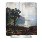 Tomorrow At Wallenstadtersee  Shower Curtain
