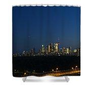 Toronto At Night Shower Curtain