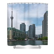 Toronto Harbourfront Shower Curtain