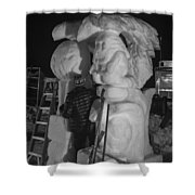 Totems Shower Curtain