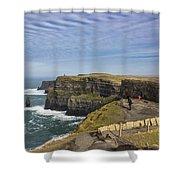 Tourists Shower Curtain