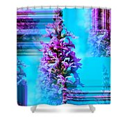 Tower Of Beauty Shower Curtain