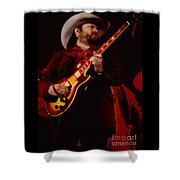 Toy Caldwell Of Themarshall Tucker Band At The Cow Palace Shower Curtain
