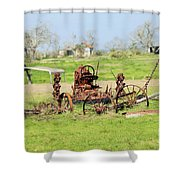 Tractor 005 Shower Curtain
