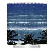 Trade Lines Shower Curtain