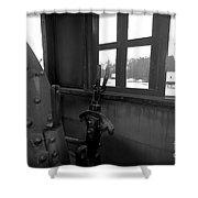 Trains 5 6 Shower Curtain