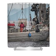 Transfer The Catch Shower Curtain
