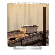 Travel New England Shower Curtain