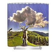 Tree Blossom 1 Shower Curtain