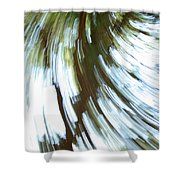 Tree Diptych 2 Shower Curtain