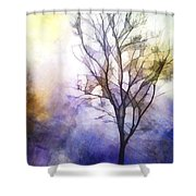 Tree On Vine Shower Curtain