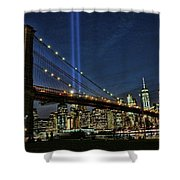 Tribute In Light # 1 Shower Curtain
