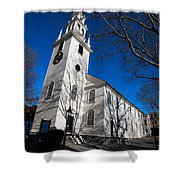 Trinity Church Newport Rhode Island Shower Curtain