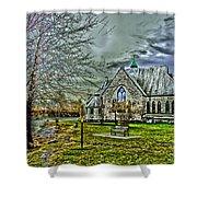 Trinity Episcopal Church Shower Curtain