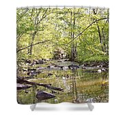 Trinity Foundry Shower Curtain