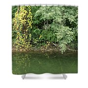 Trinity River Shower Curtain