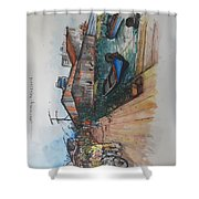 Trip To Chew's Bridge Shower Curtain