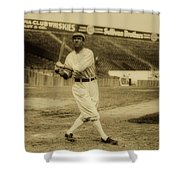 Tris Speaker With Boston Red Sox 1912 Shower Curtain