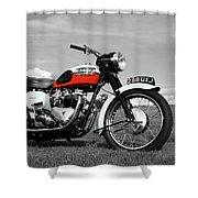 Triumph Bonneville 1959 Shower Curtain