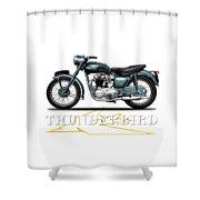 Triumph Thunderbird 1955 Shower Curtain