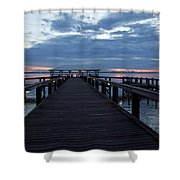 Tropic Twilight On The Indian River Shower Curtain