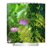 Tropical Eden Shower Curtain