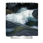 Tropical Flowing Waters Josephine Falls  Shower Curtain