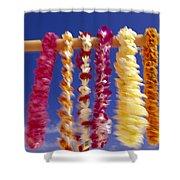 Tropical Leis Shower Curtain