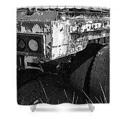 Truck Lights Shower Curtain
