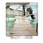Tuamotu Isles Shower Curtain