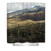 Tucson Landscape Shower Curtain