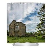 Tumbledown Shower Curtain