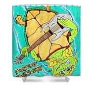 Turtley Awesome Shower Curtain