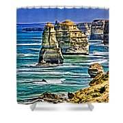 Twelve Apostles Shower Curtain