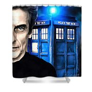 Twelve Shower Curtain