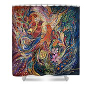 Two Elements Shower Curtain