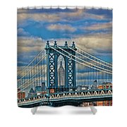 Two Icons Shower Curtain