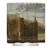 Ubbergen Castle Shower Curtain