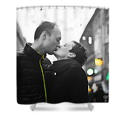 Ula And Wojtek Engagement 8 Shower Curtain