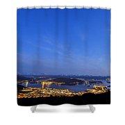 Ulsteinvik City Shower Curtain