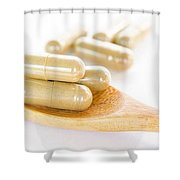 Ultra Pure Turmeric Shower Curtain