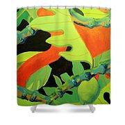 Ulu 1 Shower Curtain