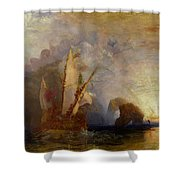 Ulysses Deriding Polyphemus Shower Curtain