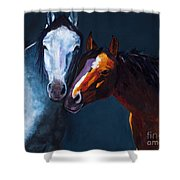 Unbridled Love Shower Curtain