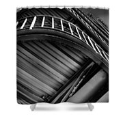 Under The Stairs Shower Curtain