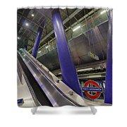 Underground Escalator Shower Curtain