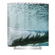 Underwater Barrel Shower Curtain